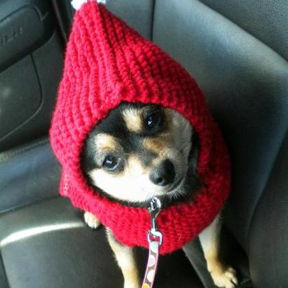 Holiday Hoodie for Dogs Knitting Pa..