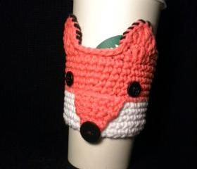 Fox Coffee Cozy Croc..
