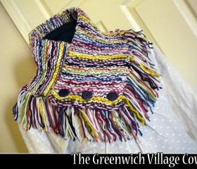 The Greenwich Village Cowl knitting pattern