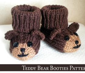 Teddy Bear Baby Boot..