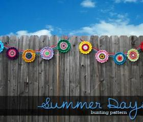 Summer Days Bunting Pattern
