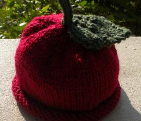 Perfect Apple Hat Knitting Pattern