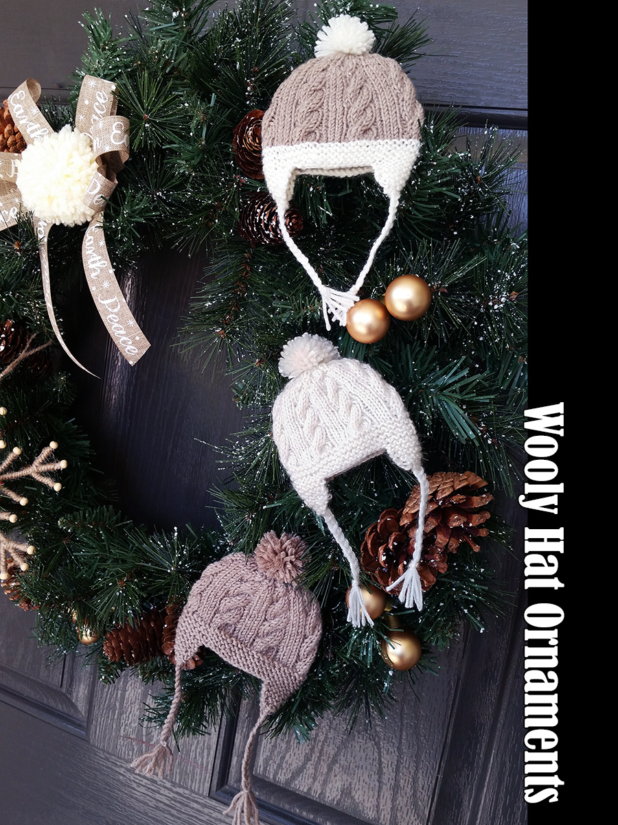 Wooly Hat Ornaments