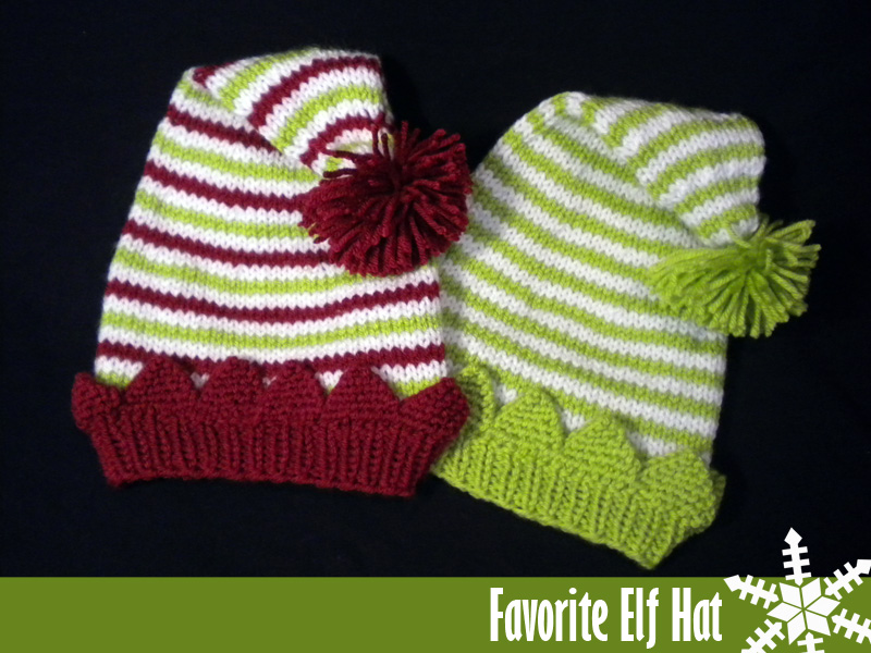 Knitted Elf Pattern : Favorite Elf Hat Knitting Pattern on Luulla