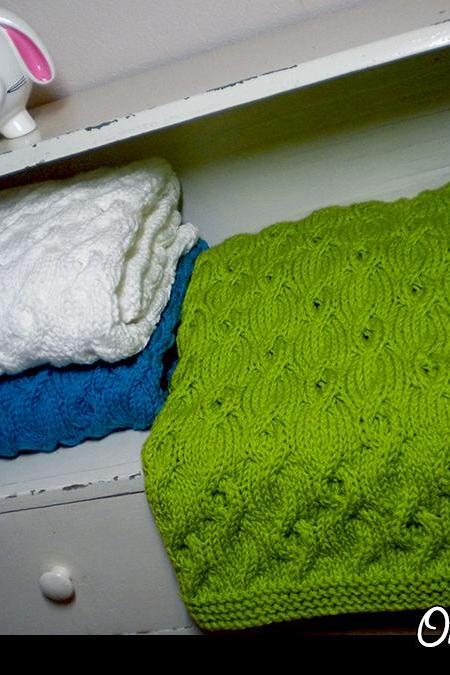 Only the Best Baby Blanket Knitting Pattern