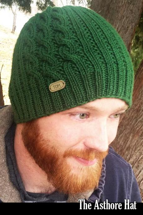 The Asthore Hat Knitting Pattern