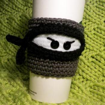 Ninja Coffee Cozy Pattern on Luulla