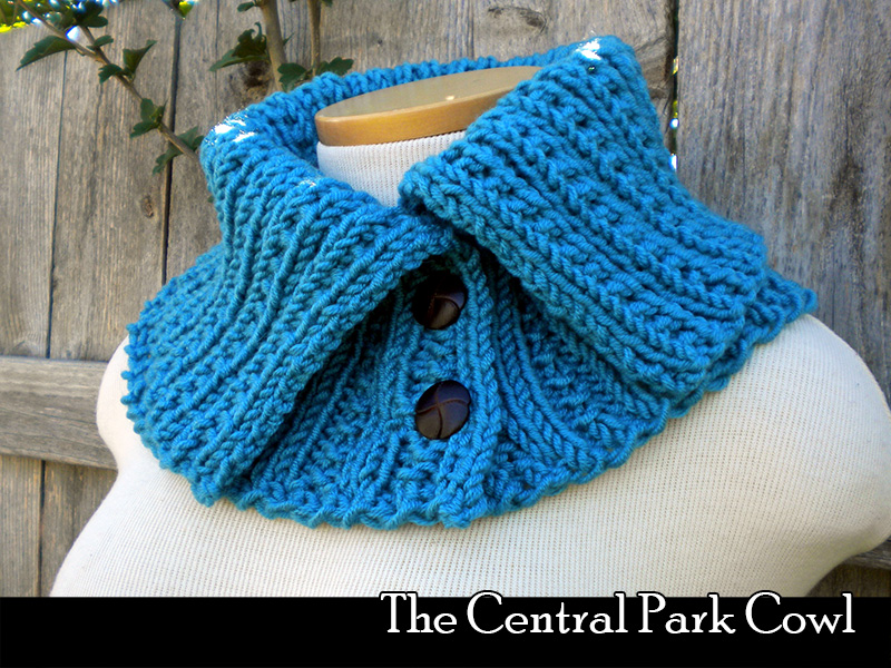 The Central Park Cowl Knitting Pattern on Luulla