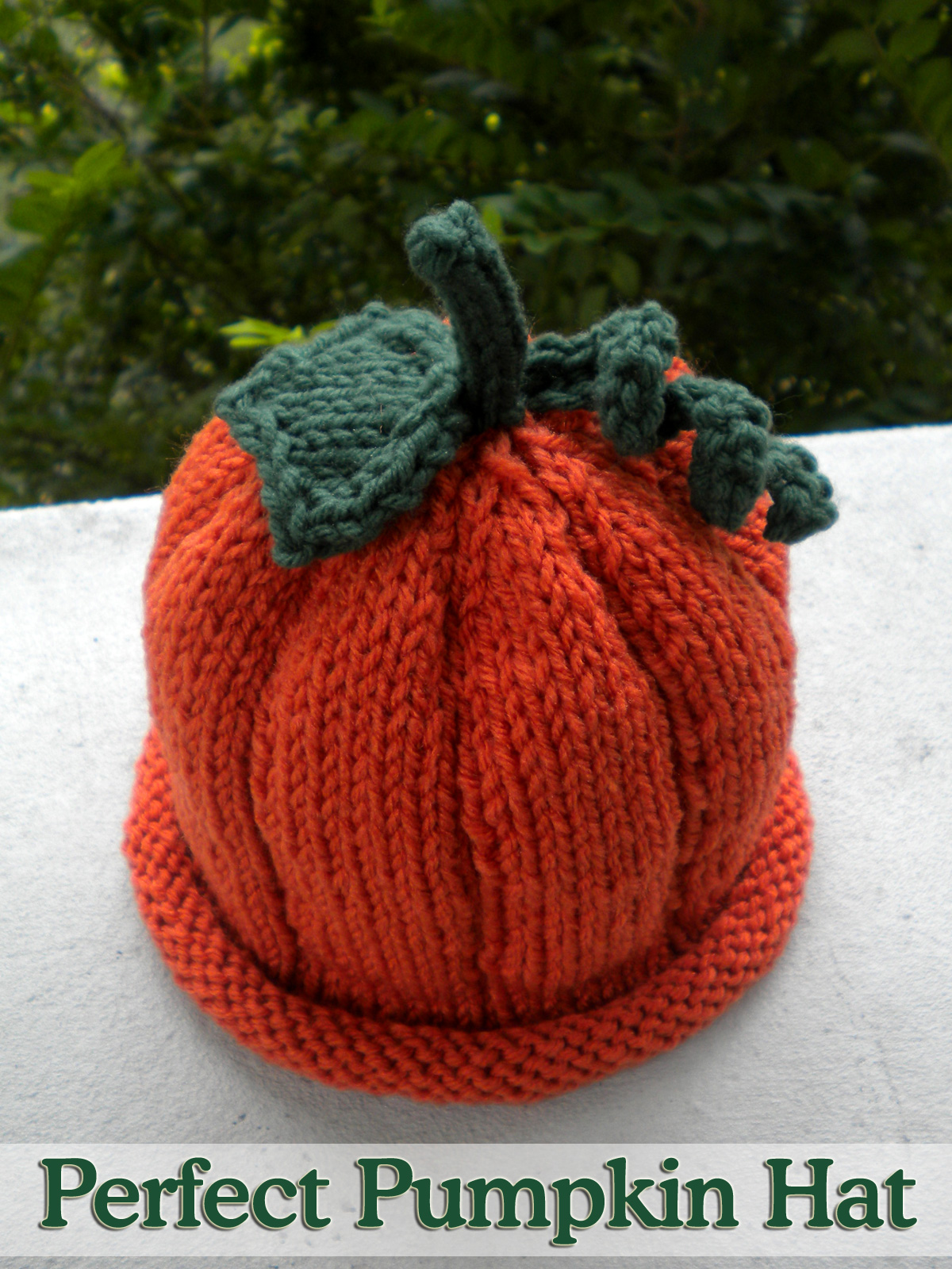 Knitting Pattern Hat Size 9 Needles : Perfect Pumpkin Hat (done On 2 Needles) Knitting Pattern ...